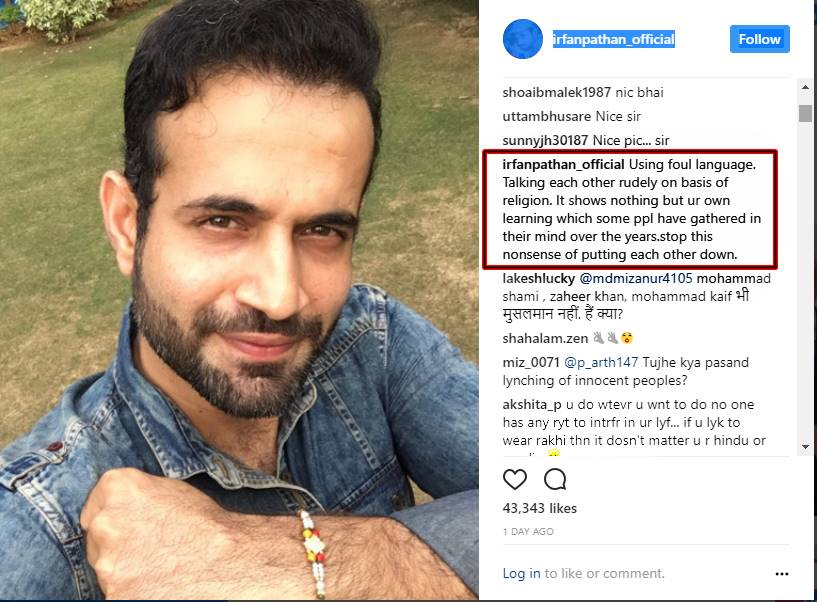 'Stop this nonsense', says Irfan Pathan after being trolled