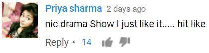 Pehredaar Piya Ki, Youtube Comments
