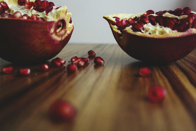 Pomegranate, food