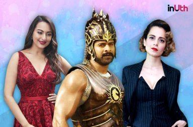Sonakshi Sinha, Prabhas and Kangana Ranaut
