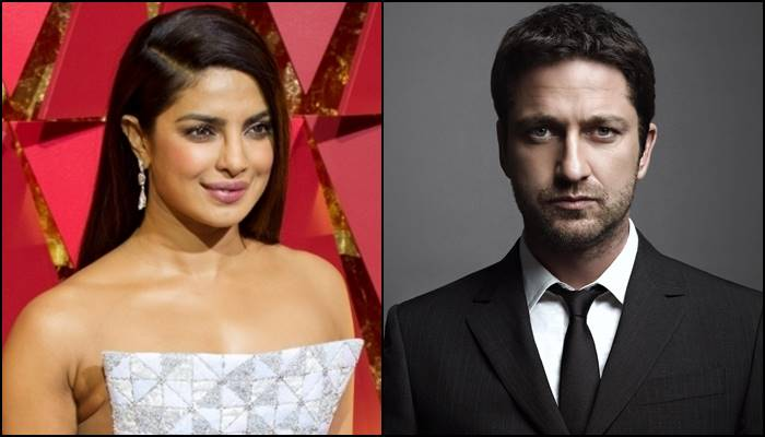 Priyanka Chopra and Gerard Butler