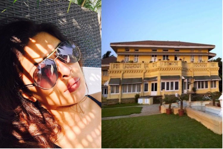 Image result for Colonial Bungalow in Goa priyanka chopra