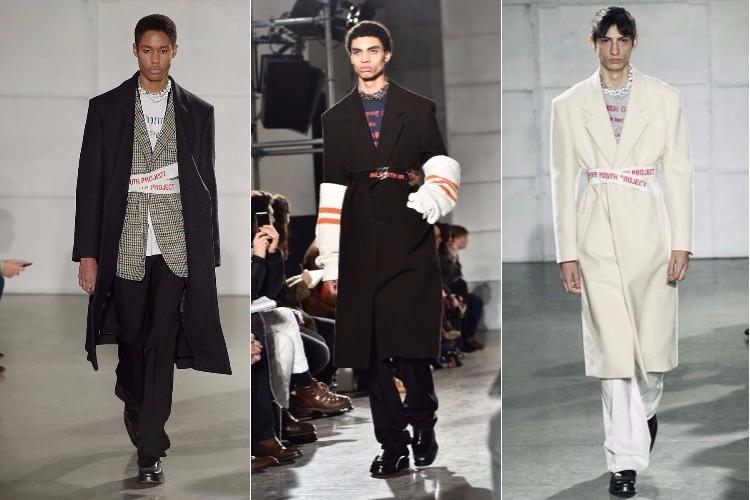Raf Simons show New York Fashion Week