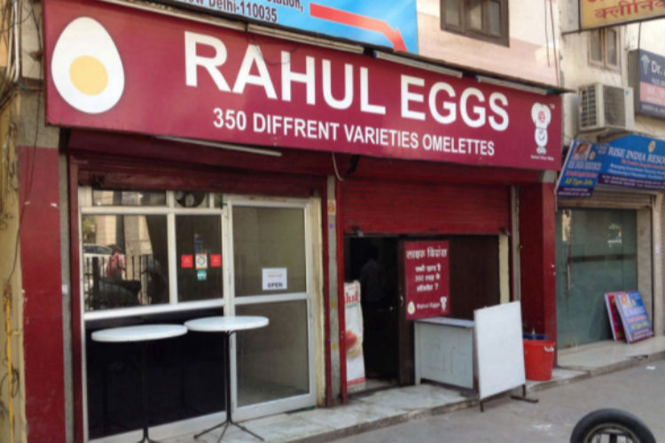 Rahul Eggs, food