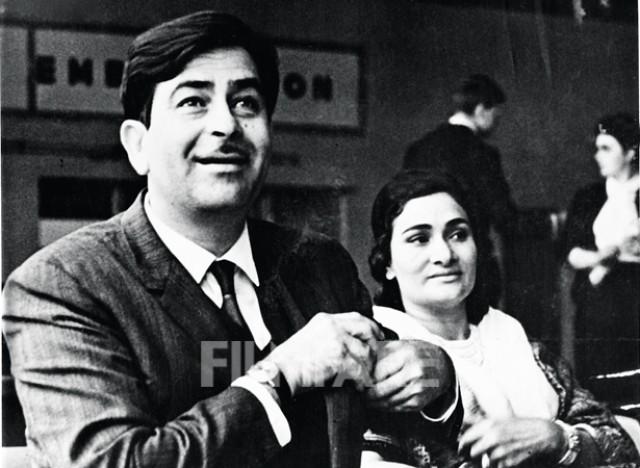 Raj Kapoor and Krishna Kapoor