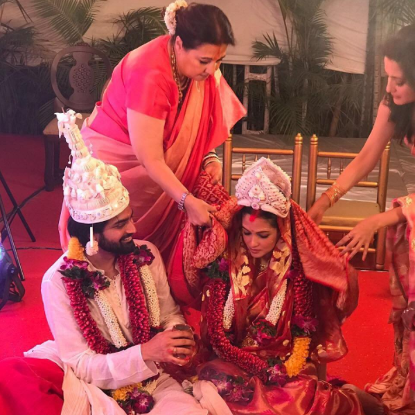 Riya Sen and Shivam Tewari Wedding