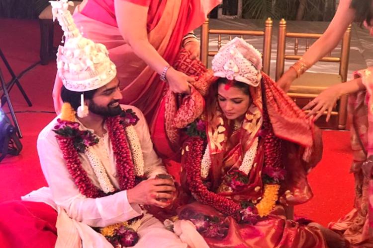 Riya Sen and Shivam Tewari Wedding