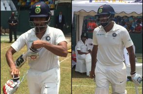 India vs Sri Lanka 2017, Wriddhiman Saha, Ravichandran Ashwin
