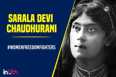 Sarala-Devi-Chaudhurani women freedom fighter