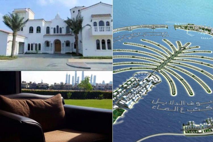 Shah Rukh Khan's house at Palm Jumeirah, Dubai