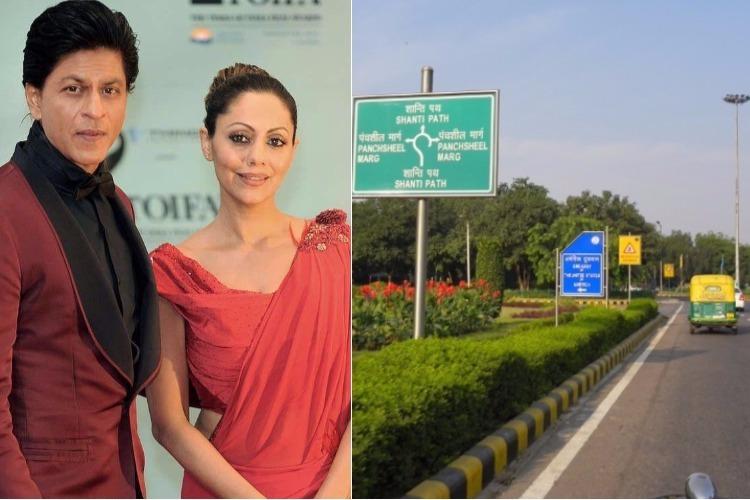Shah Rukh Khan and Gauri Khan own a bungalow in Delhi's Panchsheel Marg