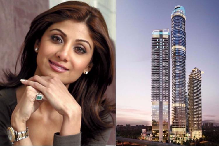 Shilpa Shetty owns a duplex apartment in Supernova, Noida