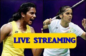 PV Sindhu, Saina Nehwal, Live Streaming, World Badminton Championships