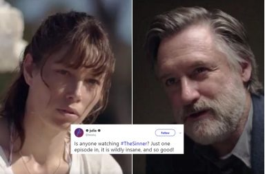 The sinner, crime drama series, twitter