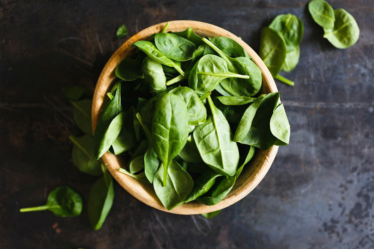 Spinach, food