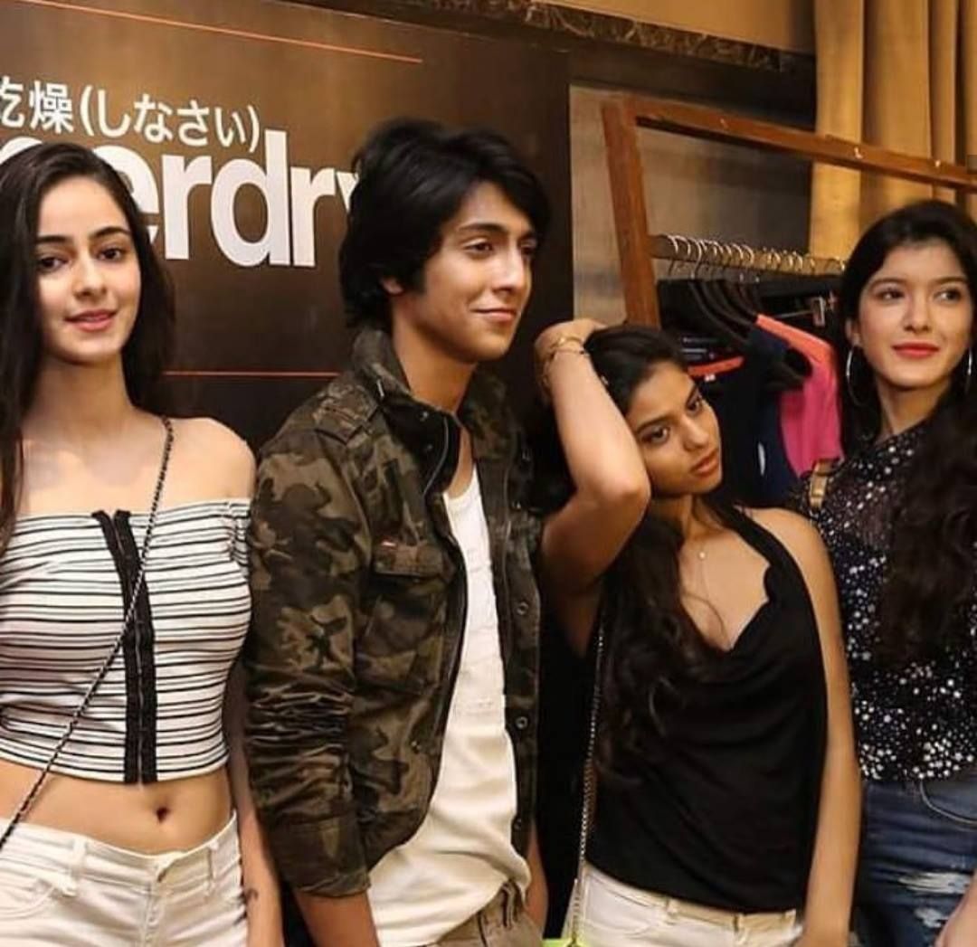 Suhana Khan Spotted With Ahaan Pandey