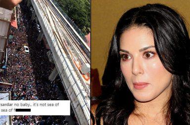 Sunny Leone, Twitter, Kochi fans, slut shamed
