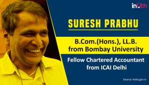 Suresh-Prabhu Railway minister education