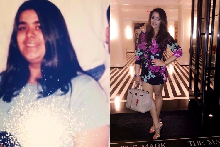 Trishala Dutt's transformation