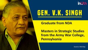 VK singh educational qualification