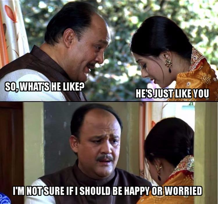 Vivah, Movie Meme, Shahid Kapoor, Amrita Rao