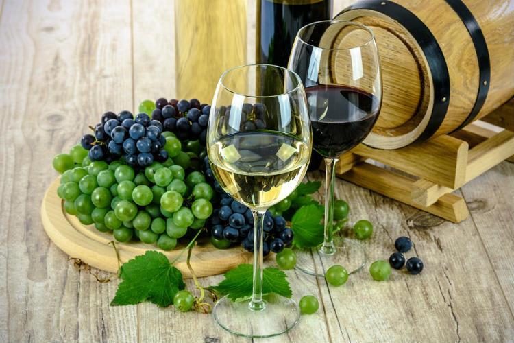 Wine, food