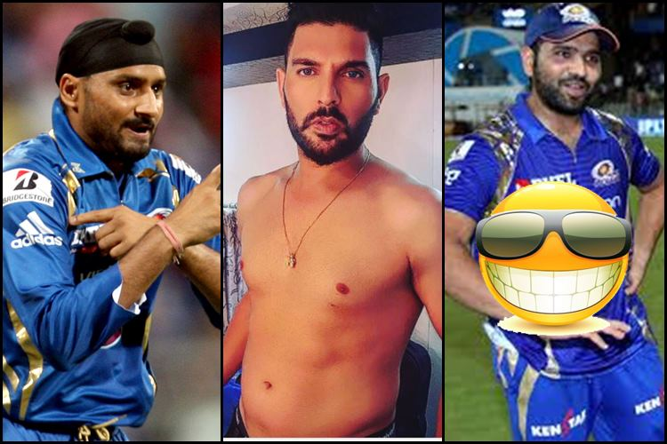 Yuvraj Singh shares shirtless photo on Instagram, gets trolled by Rohit Sharma & Harbhajan Singh