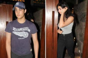 Akshay Kumar's son Aarav Bhatia spotted photo
