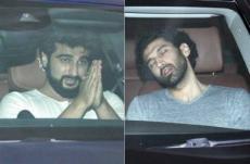 Arjun, Ranbir, Aditya, Varun meet Karan Johar