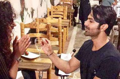 Ashmit Patel and Maheck Chahal get engaged photo