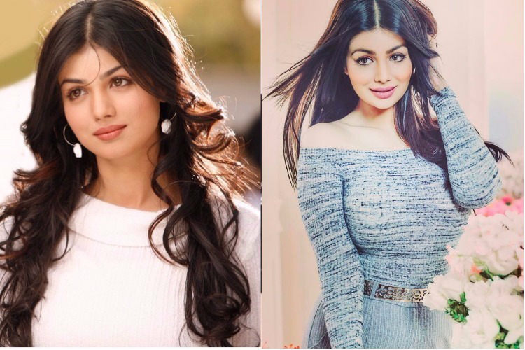 Ayesha Takia before and after