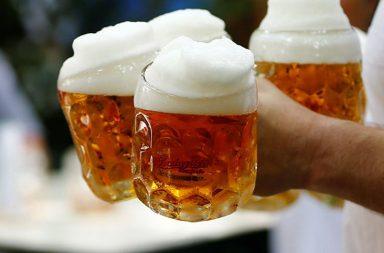 Beer, food
