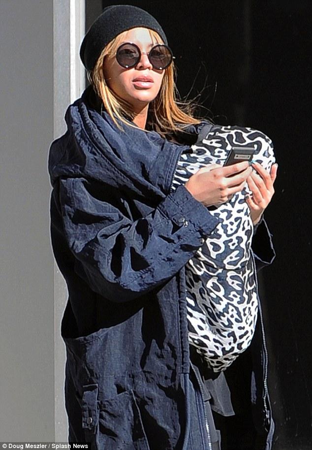 Beyonce breastfeeding