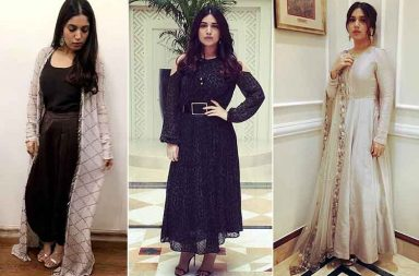 Bhumi Pednekar's looks for Toilet: Ek Prem Katha promotions photo