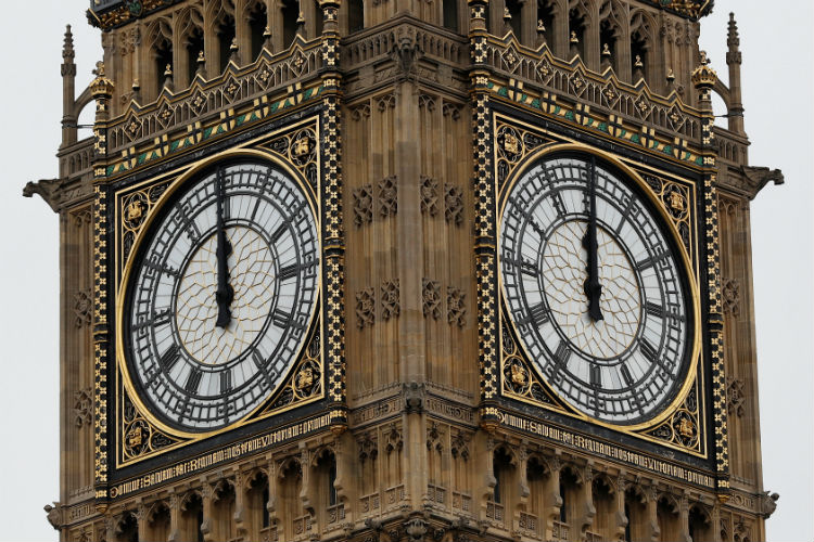Big Ben's Bongs Fall Silent