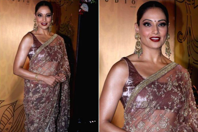 Bipasha Basu needs to fire her stylist ASAP for ruining a beautiful Sabyasachisaree