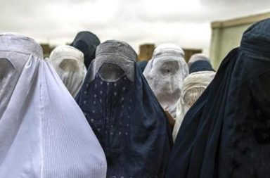 burqa clad women