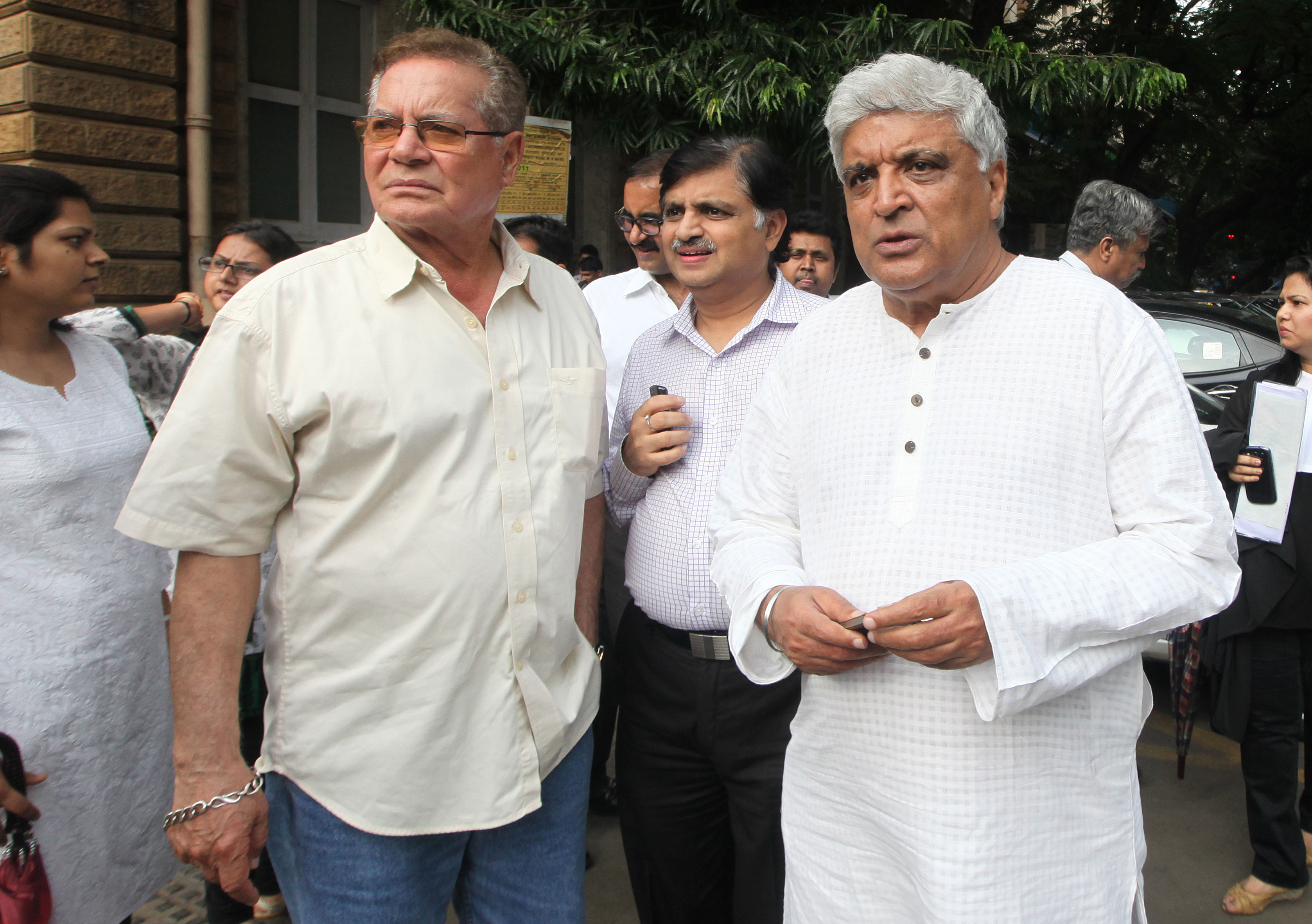 Salim Khan and Javed Akhtar.