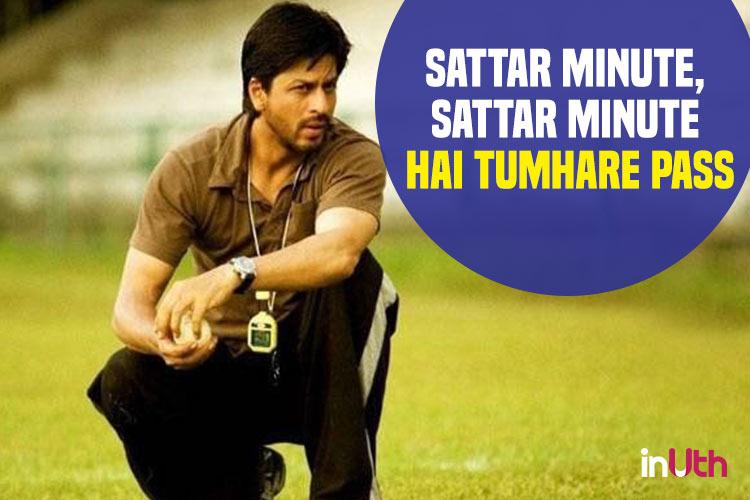 Shah Rukh Khan in Chak De India