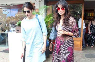 Sagarika Ghatge and Vidya Malvade's reunion photo