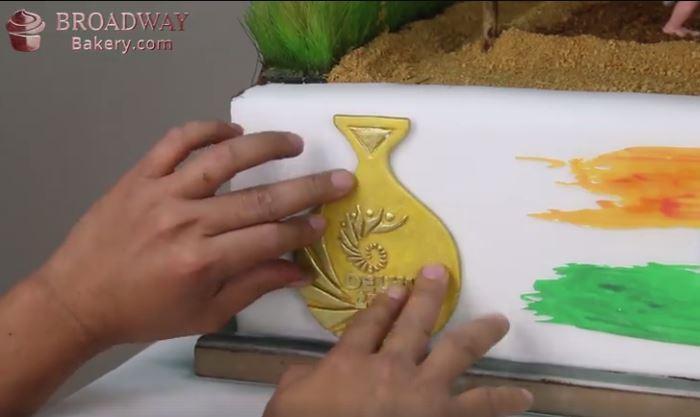 Dangal Cake