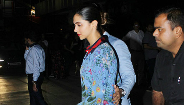 Ranveer Deepika on dinner date