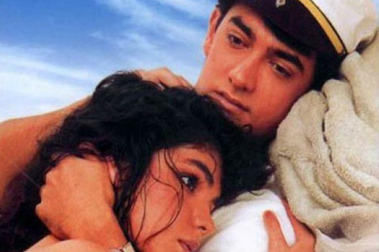 Aamir Khan and Pooja Bhatt