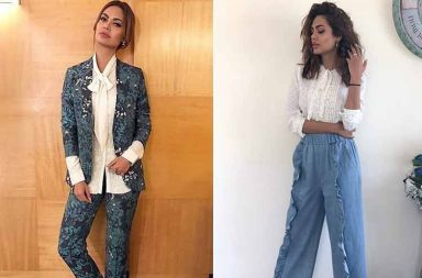 Esha Gupta's looks from Baadshaho promotions