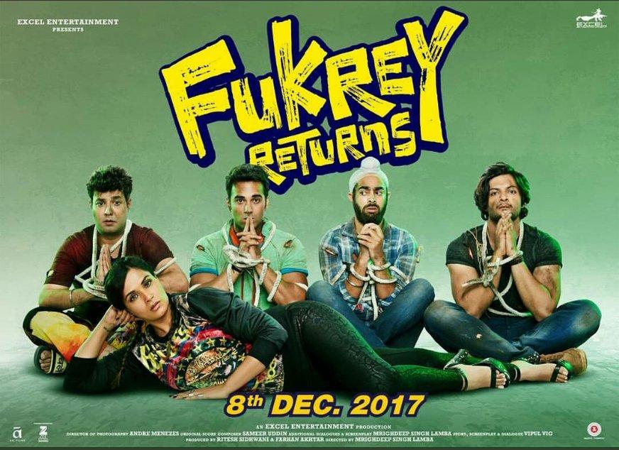 Fukrey Returns poster