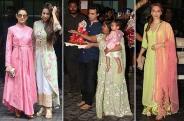 Salman Khan's family celebrates Ganesh Visarjan