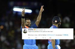 Twitter flooded with jokes and memes as Shikhar Dhawan's innings makes Sri Lankan bowlers gasping for breath