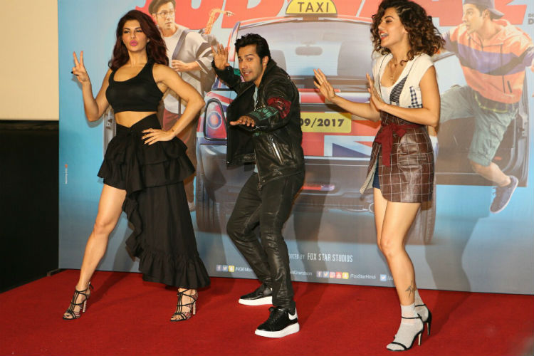 Taapsee Pannu at the Judwaa 2 trailer launch