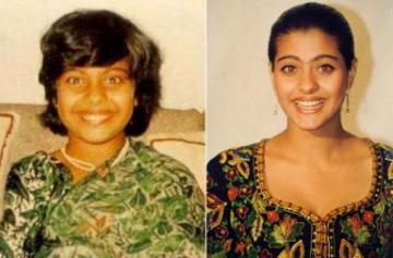 Throwback photos of Kajol