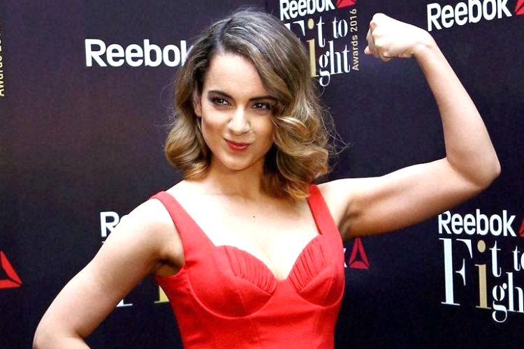 Kangana Ranaut at the Reebok Fit to Fight event